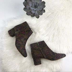 Madewell Shoes - Madewell The Margot Boot Floral Calf Hair 9